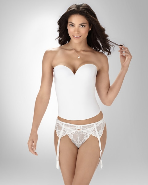 8ca1cd99a Return to thumbnail image selection Bridal Essentials Seamless Camisole  Bustier video preview image