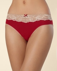 Embraceable High Leg Brief