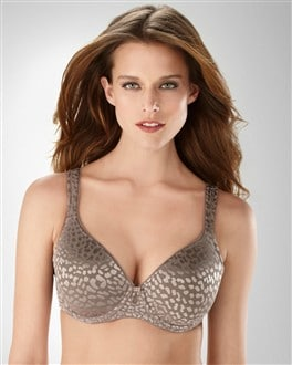Full Coverage Allura Animal Lace Bra