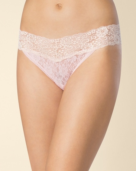 Allover Lace Thong
