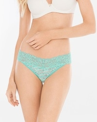 Embraceable Allover Lace Thong