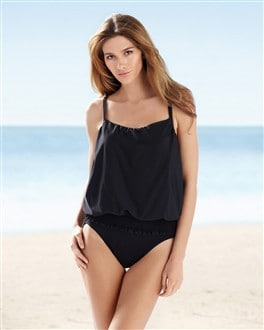 Miraclesuit Thrill Seeker Fantastic Faux One-piece