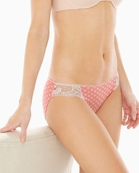 Vanishing Edge Cotton/Modal with Lace Bikini
