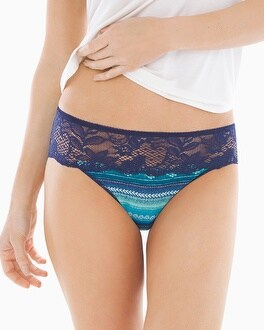 Vanishing Edge Cotton/Modal with Lace Hipster