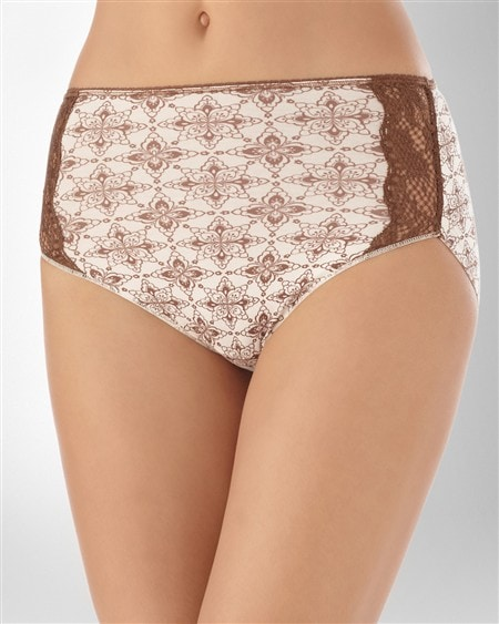 Cotton/Modal with Lace Modern Brief