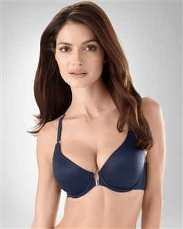 Vanishing Back Average Coverage Front Close Bra