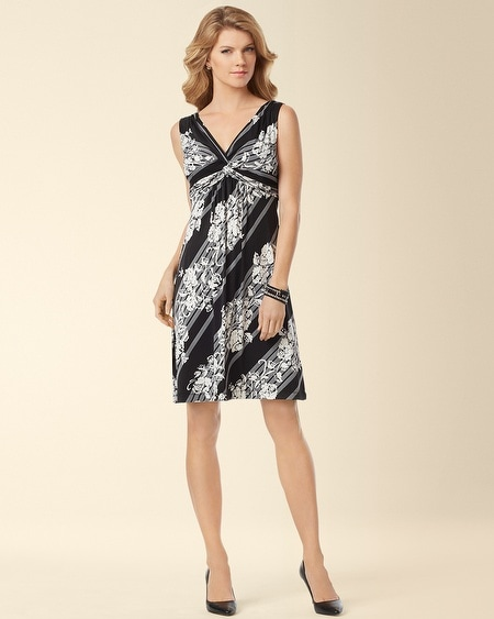Indira Sleeveless Short Dress