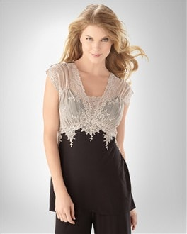 Antique Lace PJ Top