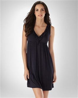 Midnight by Carole Hochman Angel Baby Chemise