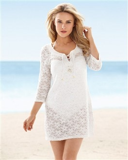 Stretch Lace Tunic