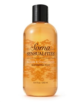 Soma Sensualities Soymilk & Orange Flower Rejuvenating Wash