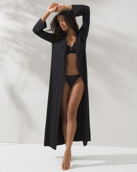 Long Robe Black