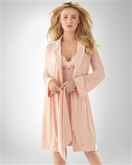 Sensuous Lace Robe