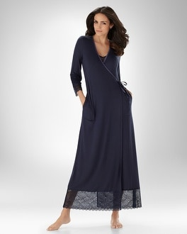 Embraceable Cool Nights Divine Long Robe