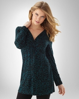 Essential Lounge Knot Front Tunic