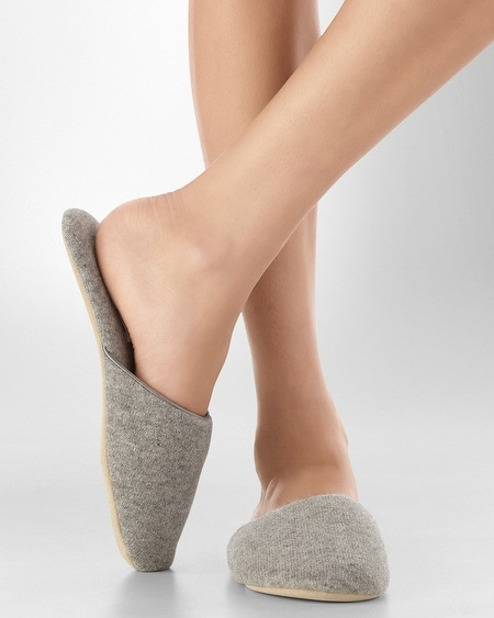 Cashmere Slipper Grey