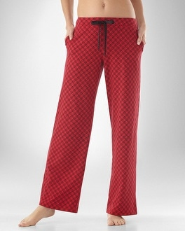 Embraceable Weekend Red PJ Pant