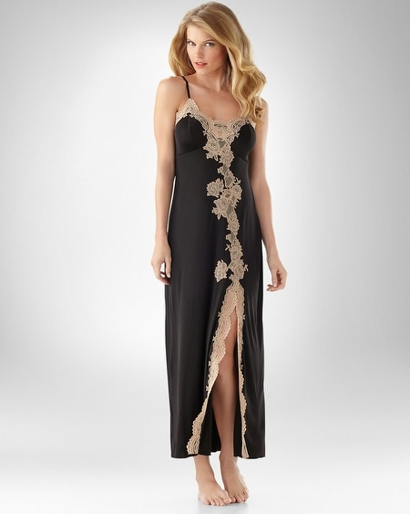Manhattan Lace Long Gown