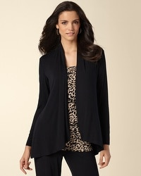 Soft Jersey Long Sleeve Cover Up