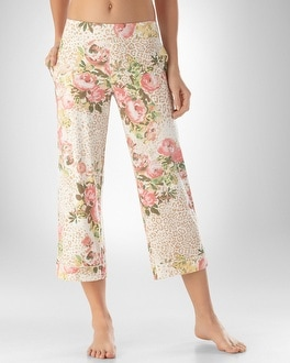 Embraceable Cool Nights Forever Ivory PJ Crop