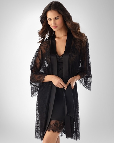 Ravishing Noir Robe