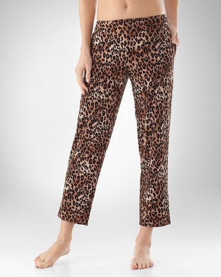 Spotted Toffee Narrow Leg Pant
