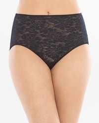 Vanishing Tummy Floral Lace Modern Brief
