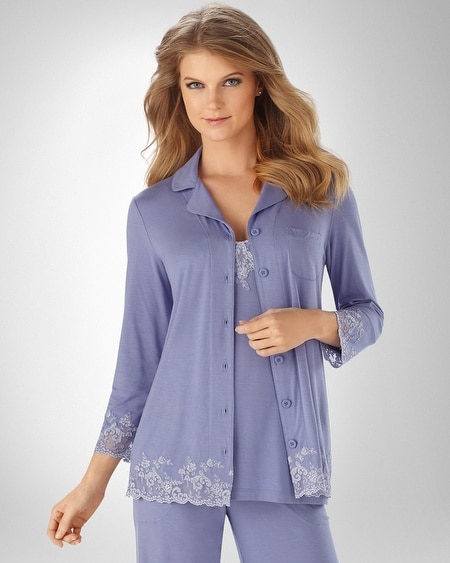 Fine Line Notch PJ Top