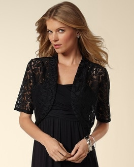 All Over Lace Cover Up Shrug