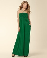 Knotted Bodice Maxi Dress