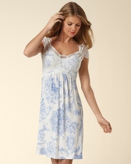 Embraceable Cool Nights Tulip Lace Lovely Ivory Chemise