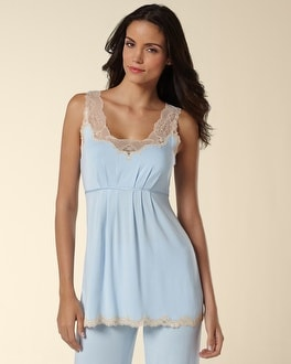 Embraceable Cool Nights Fan Lace Cami