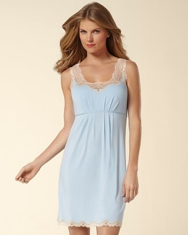 Embraceable Cool Nights Fan Lace Chemise