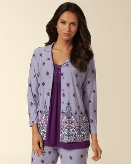 Embraceable Cool Nights PJ Top