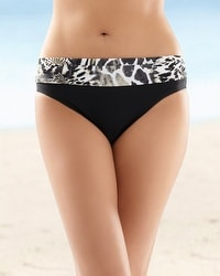 Be Creative Animal Tones Banded Bottom
