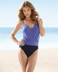 Magicsuit Aliza Fauxkini One-Piece Swimsuit