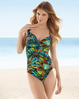 Miraclesuit Tropical Sanibel One Piece Swimsuit