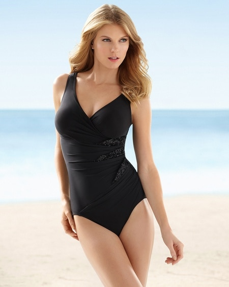 Miraclesuit Sophisticate Love Triangles One Piece Swimsuit