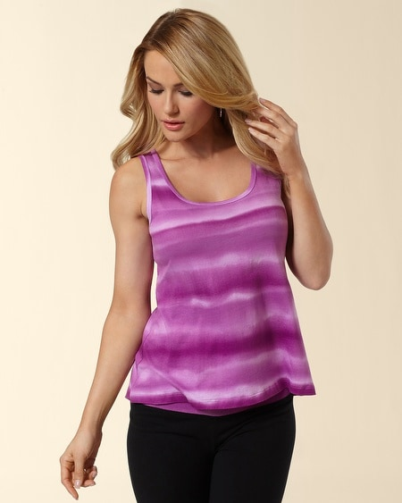 Watercolor Stripe Tank