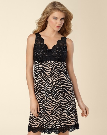 Untamed Animal Print Chemise