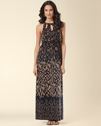 Keyhole Detail Mythology Maxi Dress