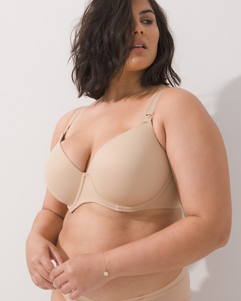 fe07087f3 Full Coverage Contour Nursing Bra - Soma