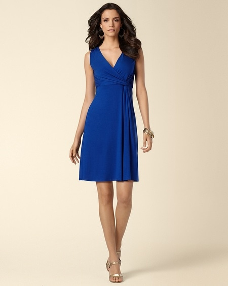 Sleeve Side Twist Short Dress