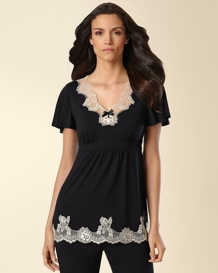 Marvelous Short Sleeve Sleep Top