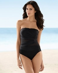 Miraclesuit Bordeaux One Piece Swimsuit