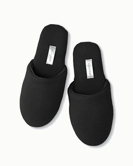 Arlotta Cashmere Slippers Black