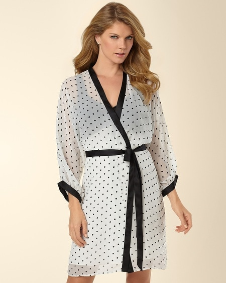 Night and Day Open Shoulder Robe