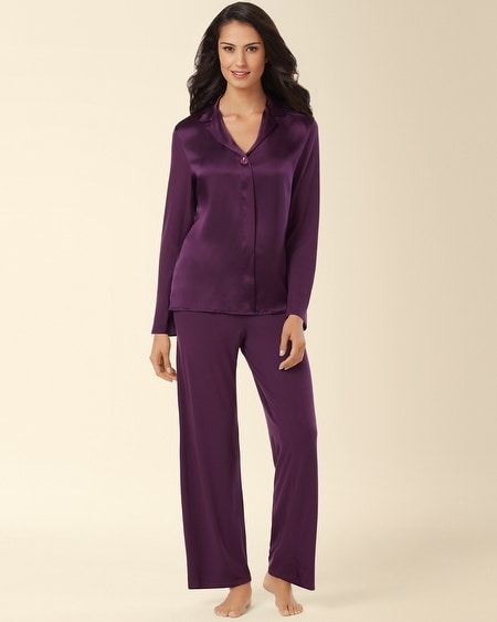 Mad About You Pajama Aubergine