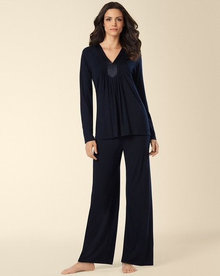 Midnigh Kiss Pajama Set Black