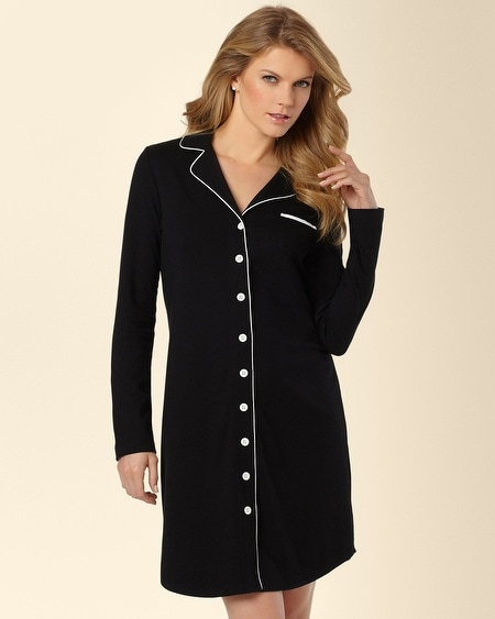 Notch Collar Sleepshirt